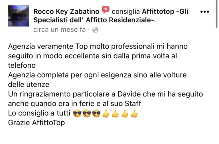 Affitto Top